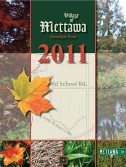 2011 Village of Mettawa Strategic Plan