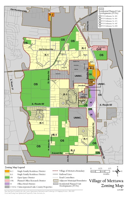 Village Of Mettawa Zoning Map